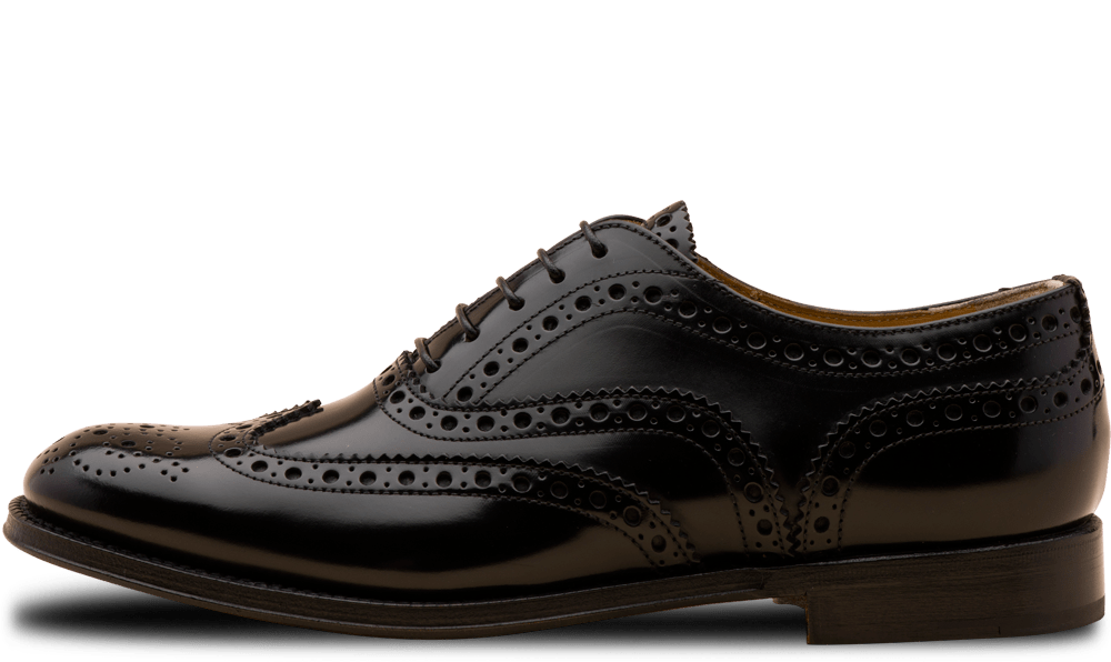 Church's klassiska full-brogue Burwood i dammodell. Numera endast i polished binder.