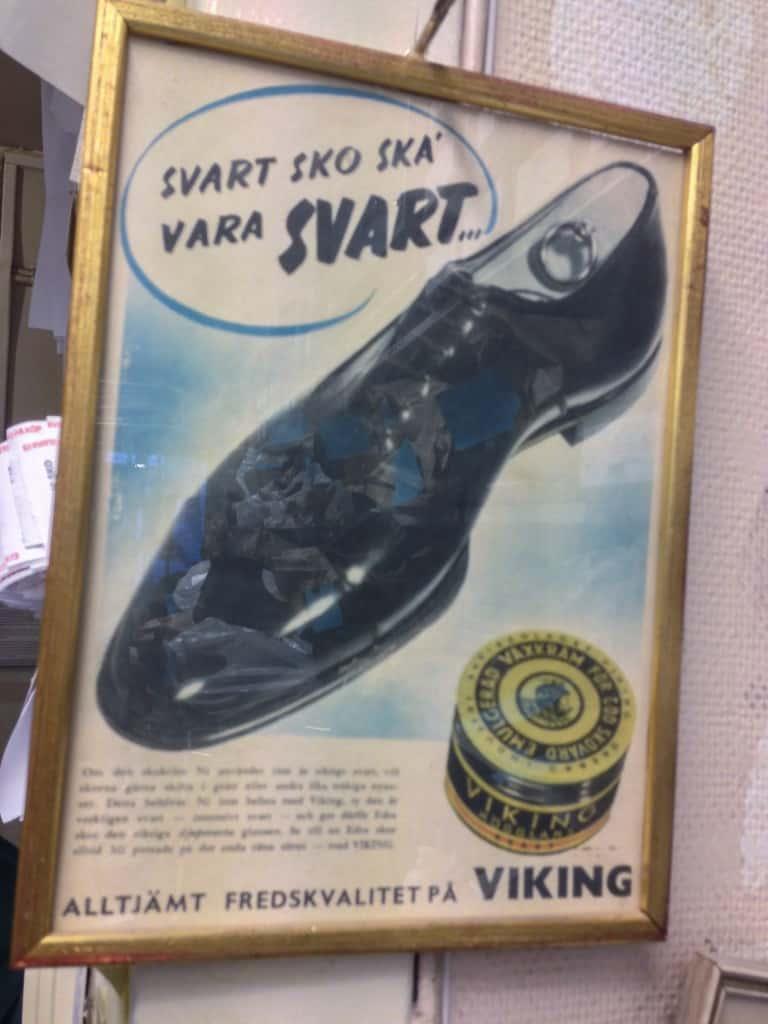 Avslutningsvis den här fantastiska gamla annonsen. Inget nonsens.
