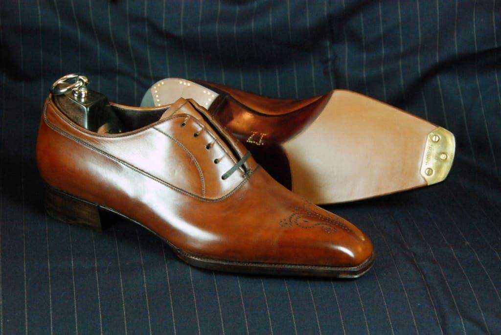Bespoke-sko från Gaziano & Girling. Bild: The Shoe Snob