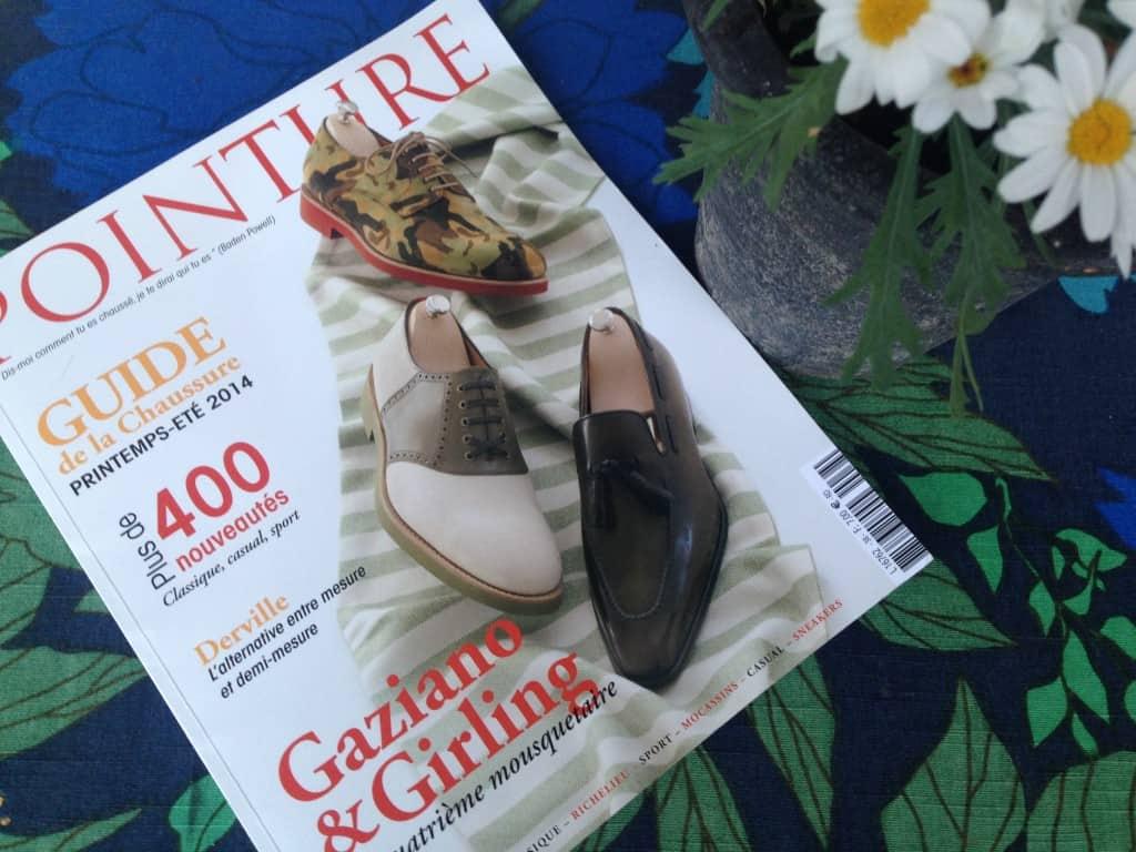 Franska magasinet Pointure utkommer två gånger om året och är ett av fåtalet renodlade kvalitetsskotidningar som existerar i världen.