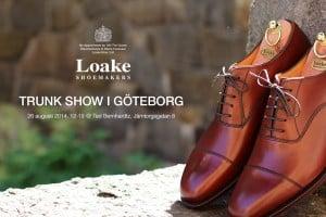 Nyhet - Loake trunk show i Göteborg