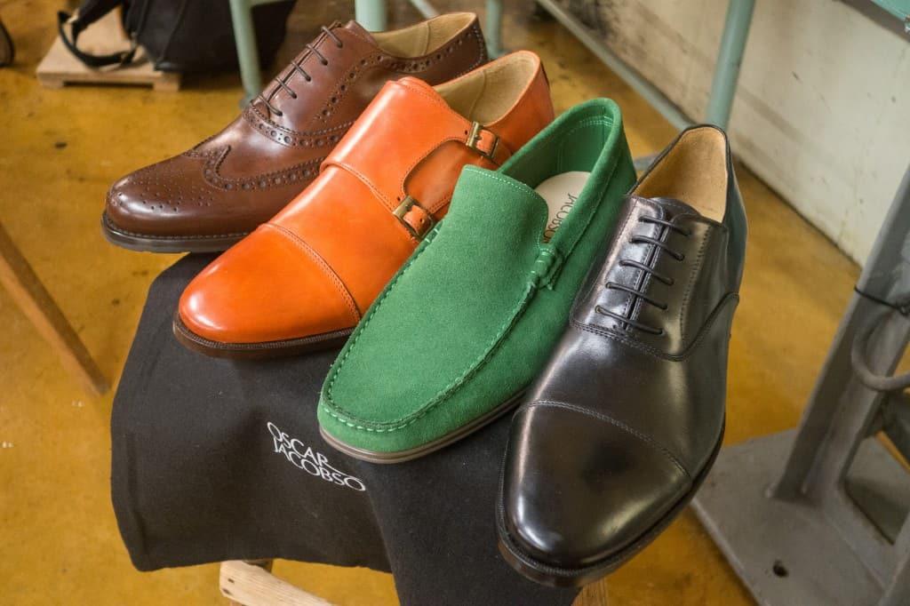 Oscar Jacobson skor tillverkade hos Italigente.