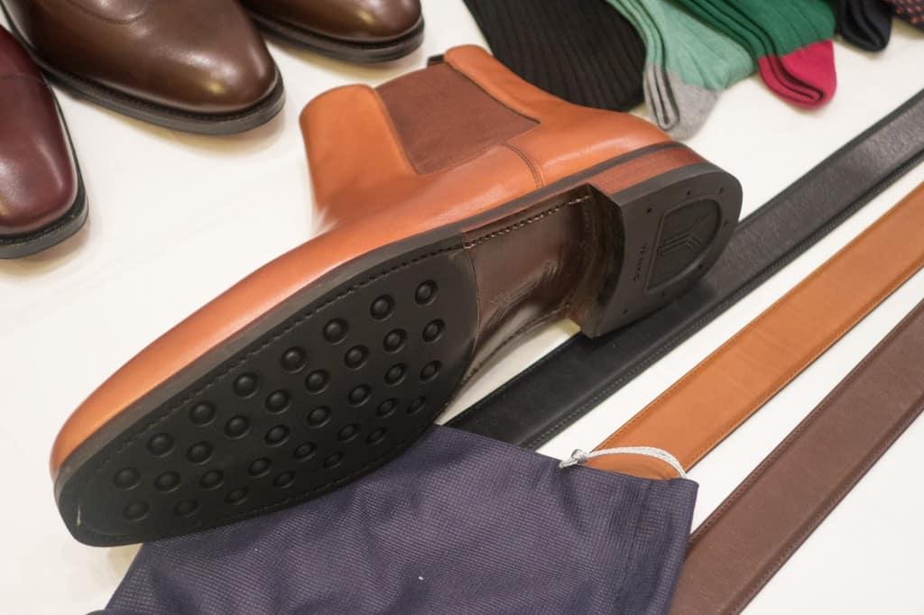 Förutom vanliga lädersulorna finns flera andra alternativ, bland annat dessa Yorksulor.
