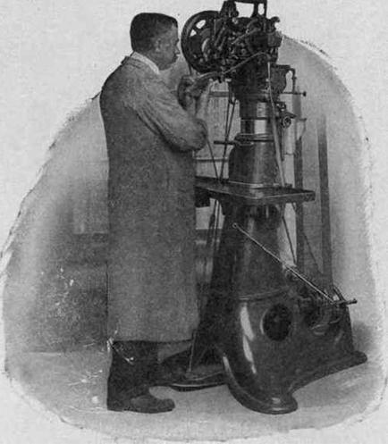 En gammal Goodyear-maskin. Bild: The Holborn Mag