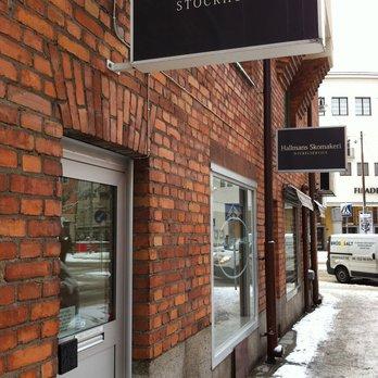 Skomakeriet Hallmans ligger i Stockholm på Birkagatan i Vasastan, och de har också en nyöppnad butik på Scheelegatan på Kungsholmen. Bild: Yelp