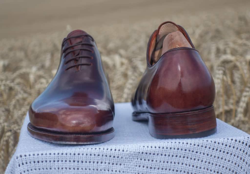 Mina färdiga skor.