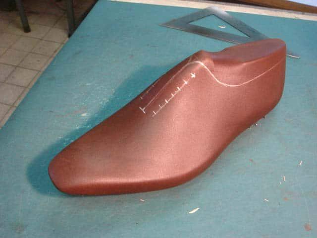 En bild från Marcell Mrsans blogg där han provat att göra modellen efter att ha sett posten på Styleforum. Bild: Shoes and Craft
