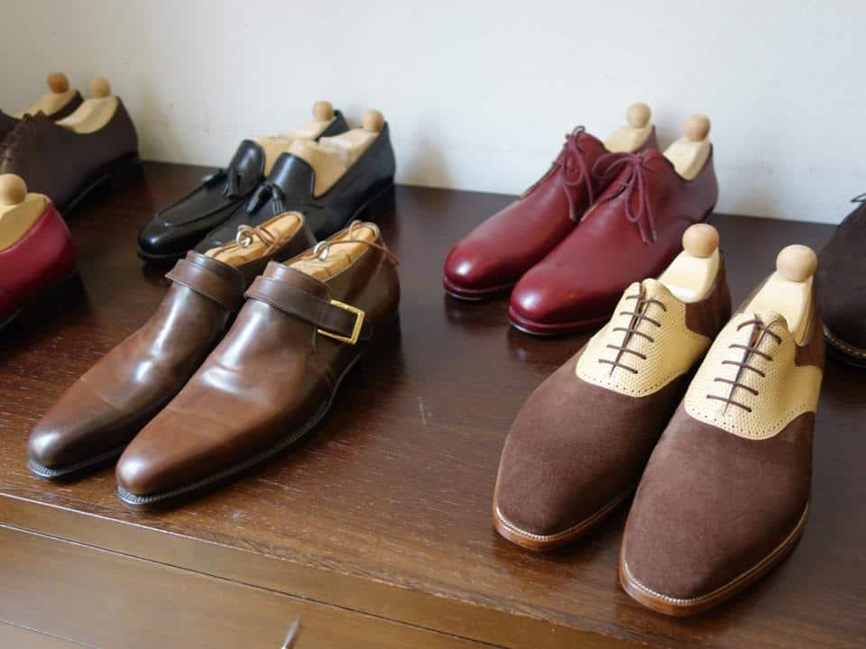 Skor som kanske känns igen för de som besökte Shoegazing Super Trunk Show. Maftei.