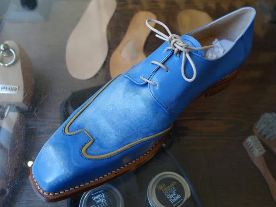 Galna skor från Amsterdambaserade Nils Kalf.