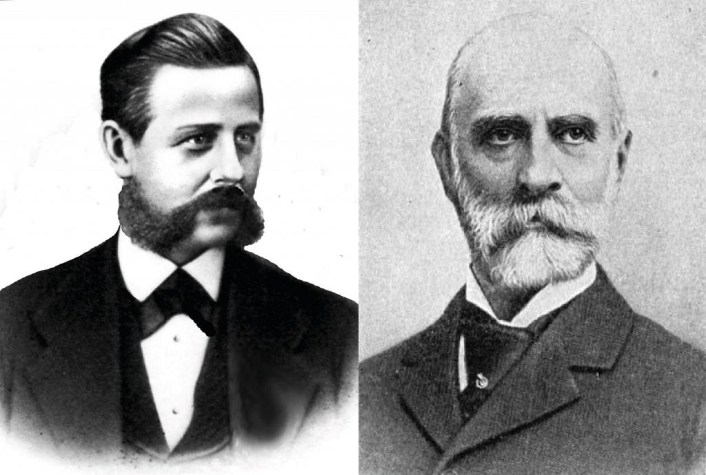 Lynon Reed Blake till vänster, Gordon McKay till höger. Bilder: Wicked Local och Salt of America