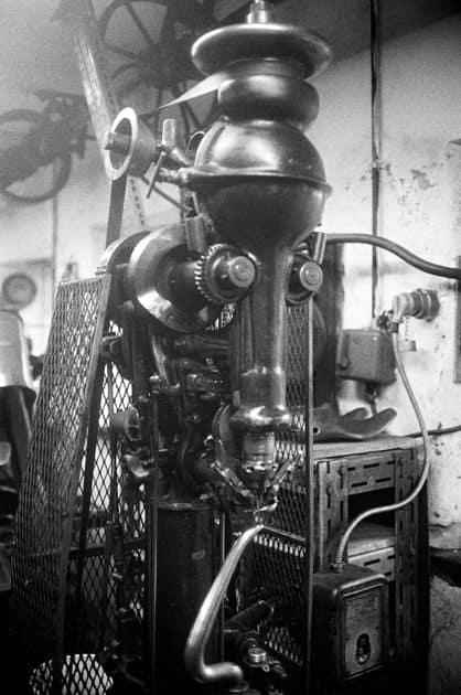 En lite modernare Blake-symaskin. Bild: Loomstate