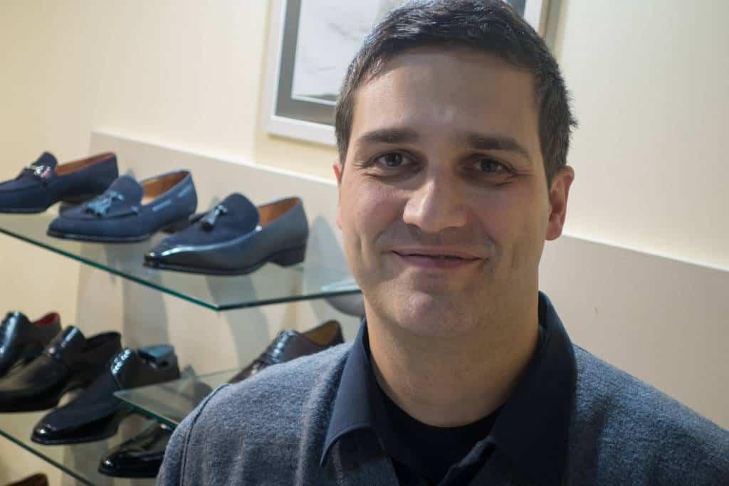 Massimo Bonafé, ansvarig för internationella försäljning på företaget, och gör också mycket nåtlingar.