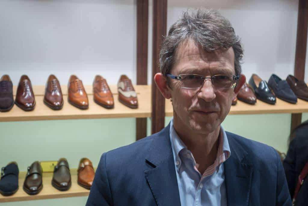 Jonathan Jones, sonsonsonson till den ena av grundarna, och företagets nuvarande VD.