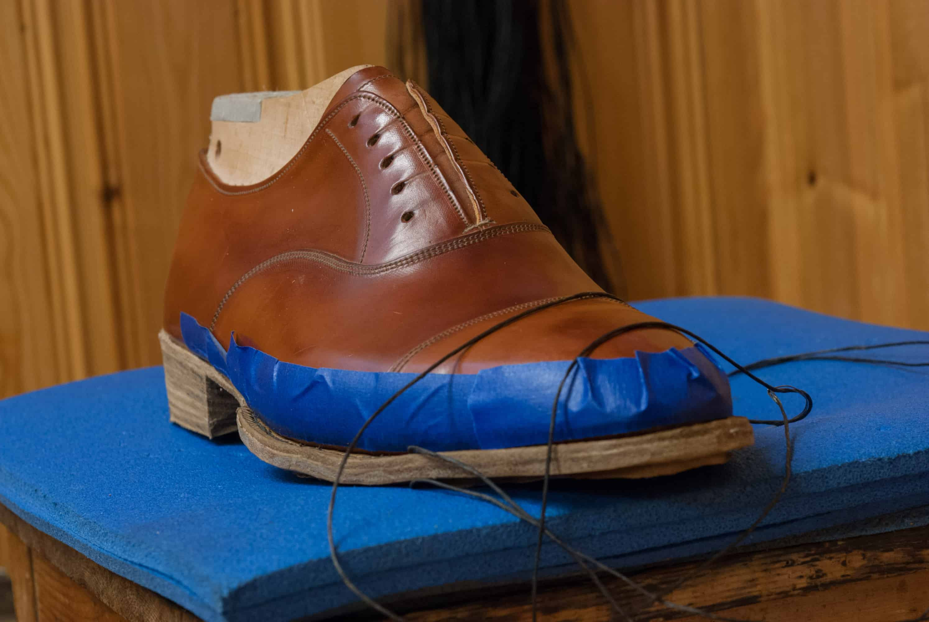 Reportage – Kurs i skotillverkning, del 2 – Shoegazing