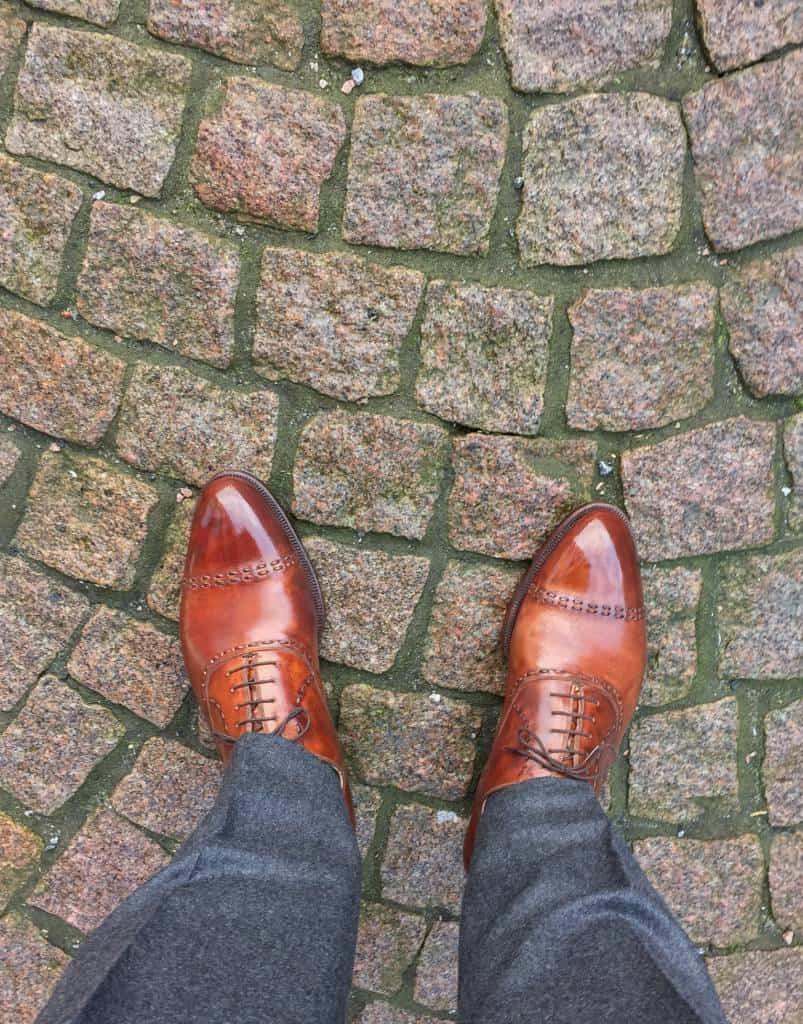 Mitt andra par från Bestetti, som synes ett magiskt par skor, men känslan för de är inte riktigt densamma ändå.