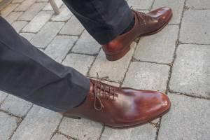Tipset - Gå in nya skor försiktigt