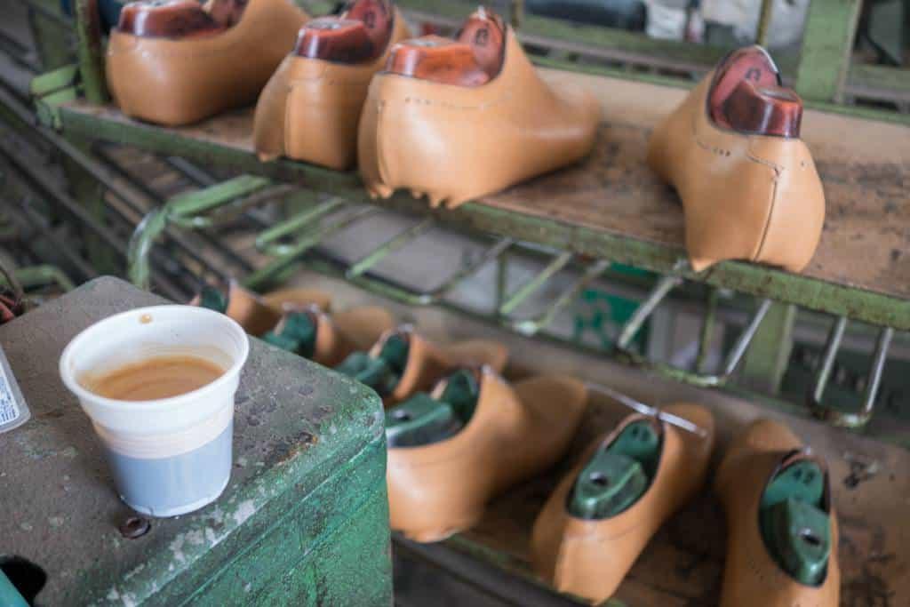 Espresso i plastmugg.