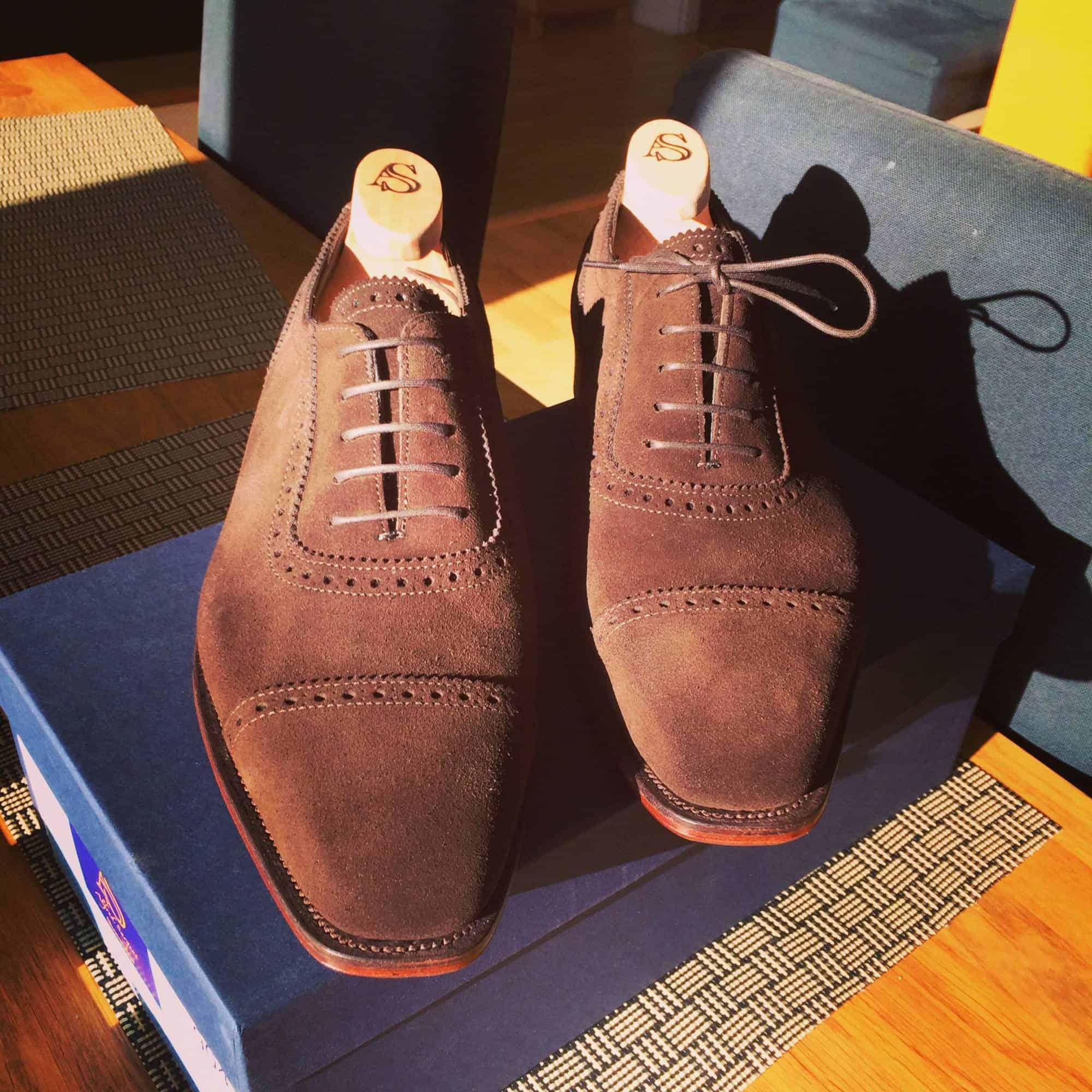 hur töjer man ut nya skor