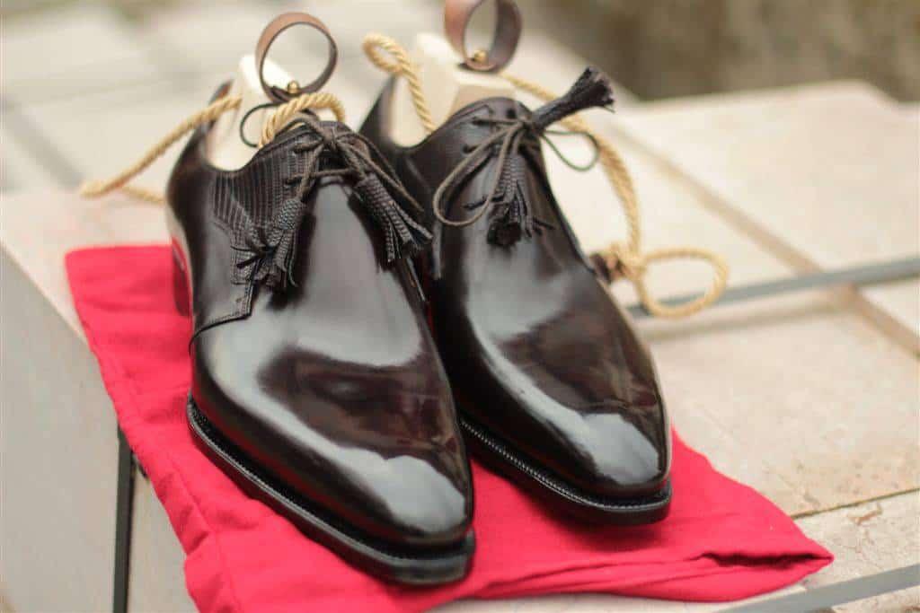 Läckra skor från Meccariellos topplinje Aurum (även översta bilden). Bild: Meccariellos tumblr