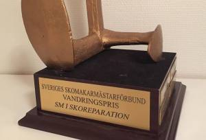 Nyhet - SM i Skoreparation 2015 avgjort