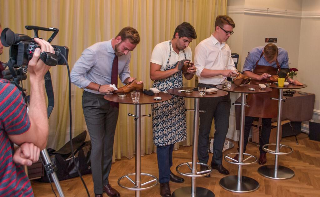Så här såg det ut när finalen avgjordes i fjol. Finalisterna från vänster Andreas Weinås, Behzad Nateghi, Per Arvidsson och Anders Sundström.