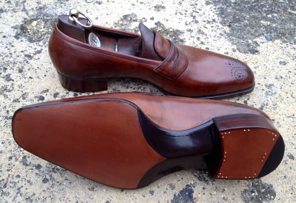 Bespoke-loafer från Gaziano & Girling. Bild: The Rake