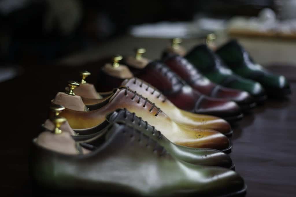 Vackra skor. Bilder: Andrés Sendra