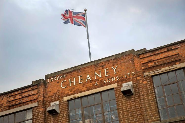 Cheaneys fabrik, samma som använts sedan 1903. Bild: WSJ
