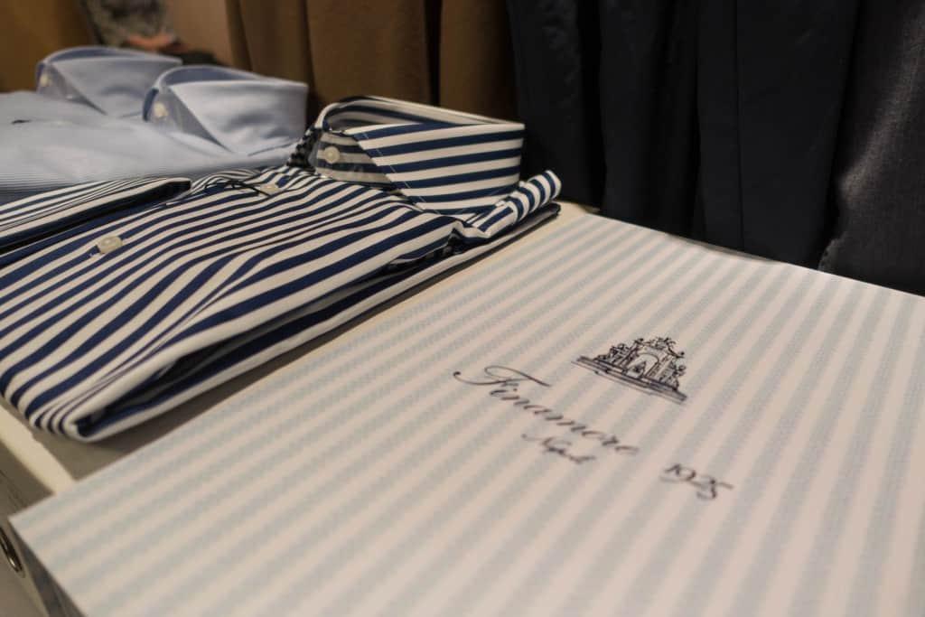 Skjortor från Finamore hos Spiga 3.