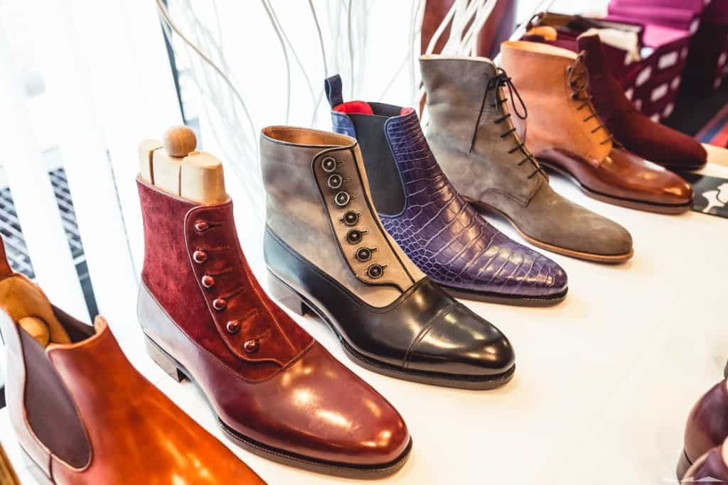 Läckra button boots från Maftei.