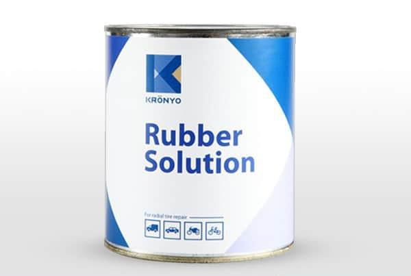 En av flera alternativ av gummilösning som fungerar bra för valda delar av skotillverkningen.
