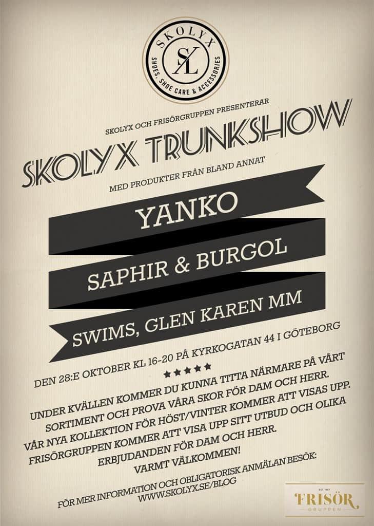 Inbjudan till Skolyx event.