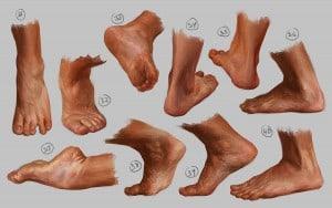 Fördjupning - Fötterna förändras