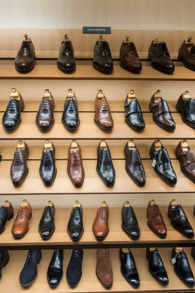 Skor från Union Imperial, från ca 2000 kronor upp till deras handrandsydda som går på 3500 cirka.