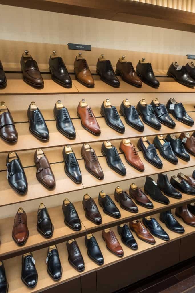 Otsuka är en av Japans mest välrenommerade fabriker, och gör skor i flera olika prisklasser. Här de billigare.