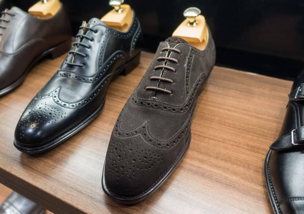 En av de i mina ögon mest imponerande japanska skorna, sett till nivå på hantverket vs pris, är Otsukas topplinje Shoten. Mycket eleganta och fint byggda Goodyear-randsydda skor som ändå bara kostar knappt 5 000 kr.