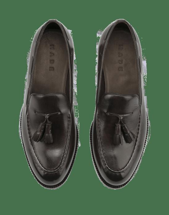 Tassel loafers är en av basmodellerna man kan utgå ifrån.