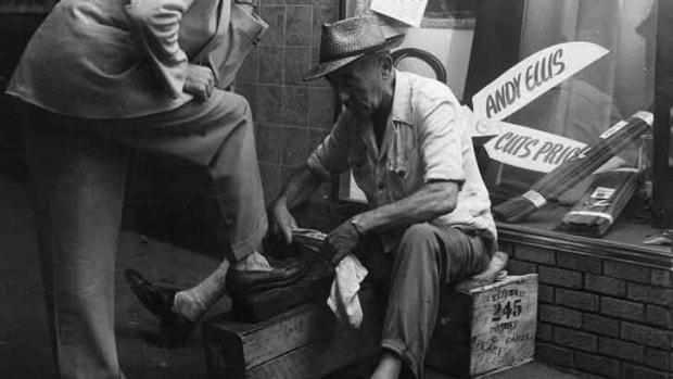Bra skokräm och polish innehåller inte bara ungefär samma saker mellan olika märken idag, utan de har gjort det i många, många år. Bild: Executive Style