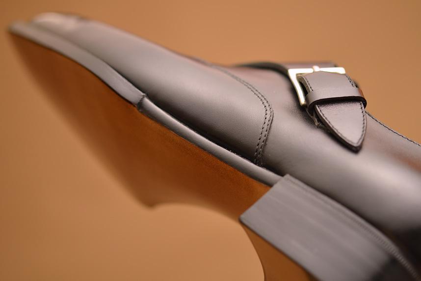 Hög nivå på arbetet på Hiro Yanagimachis skor.