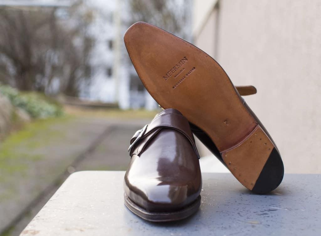 Putsad sko, ritsnedlagd sula. Bild: Nordic Fit