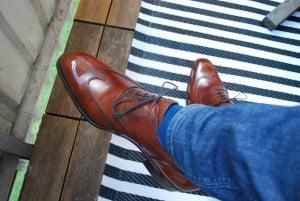 Fördjupning - Vad påverkar hur skor töjer sig nr. 2