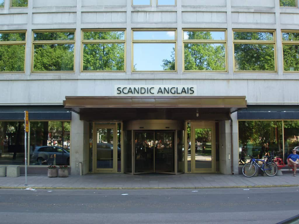 Scandic Anglais, platsen för årets event.