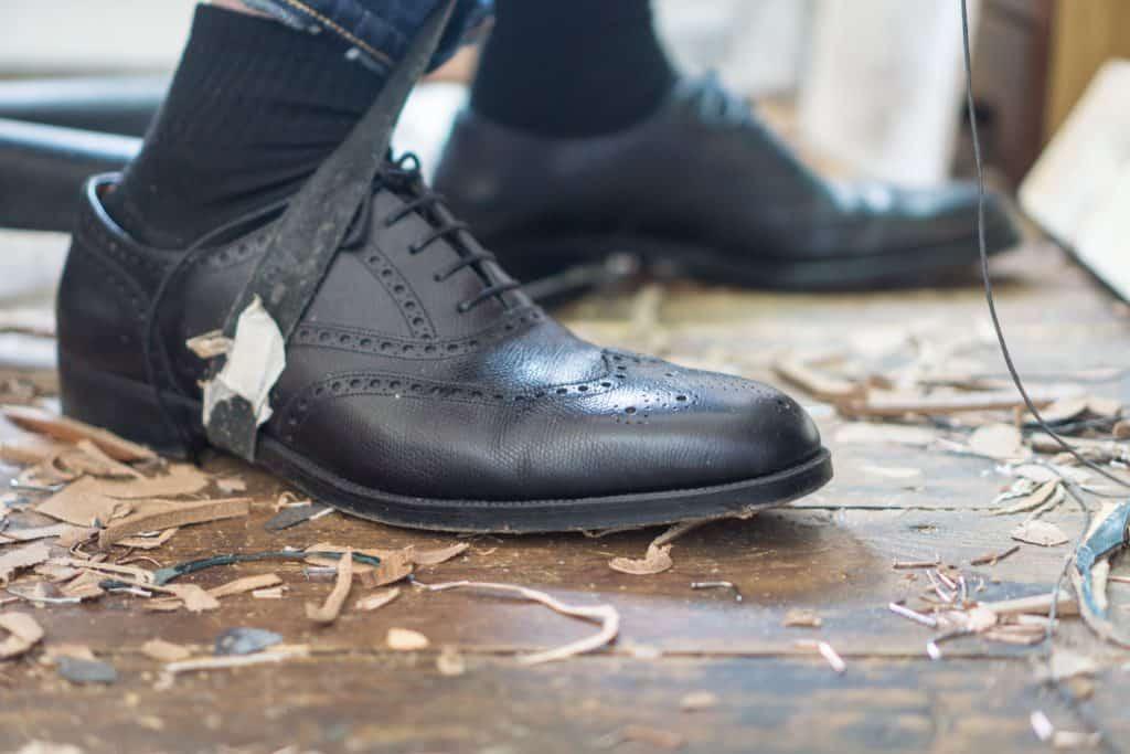 Shoes of the shoemaker 2, Daniel Wegans skor.
