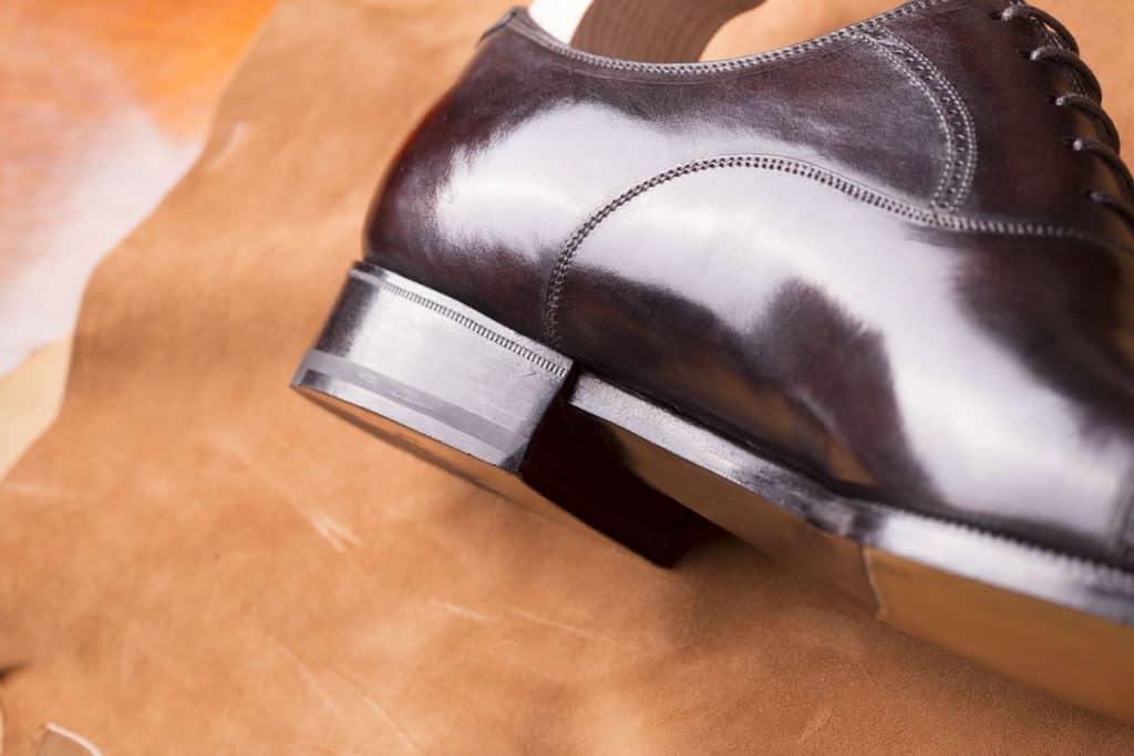 Detaljfinish man inte hittar på många skor i den här prisklassen.