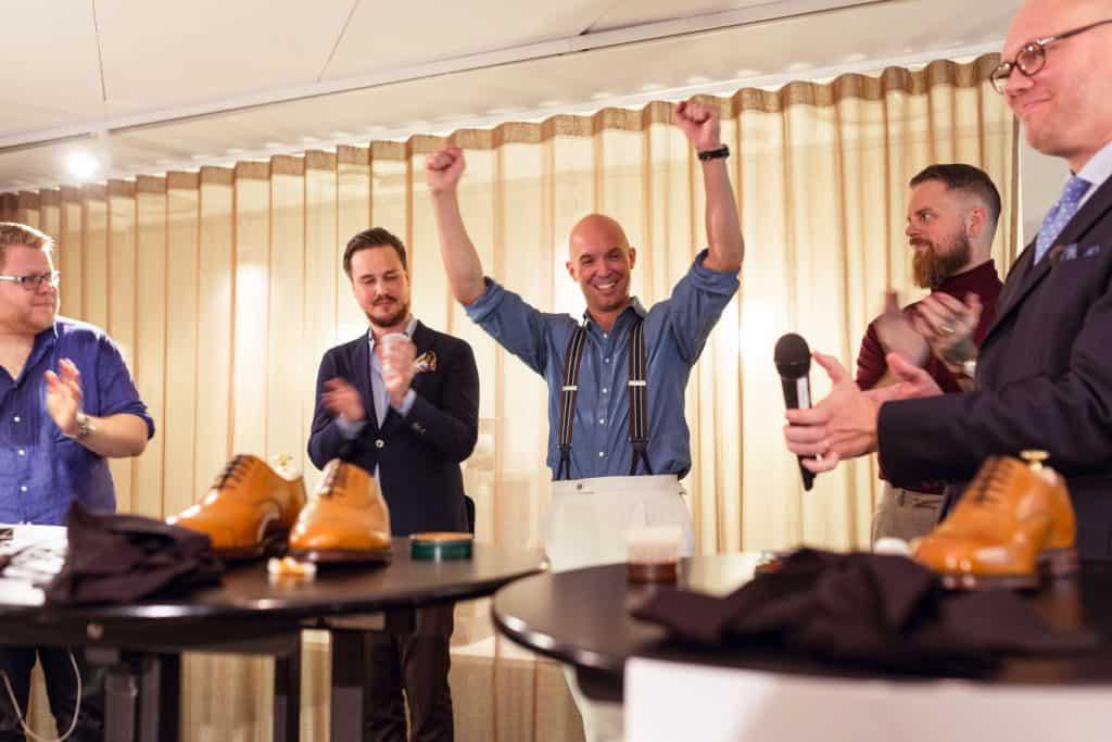 Anders Ericson blev lycklig vinnare.