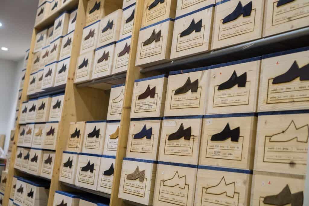 Lager med RTW-skor.