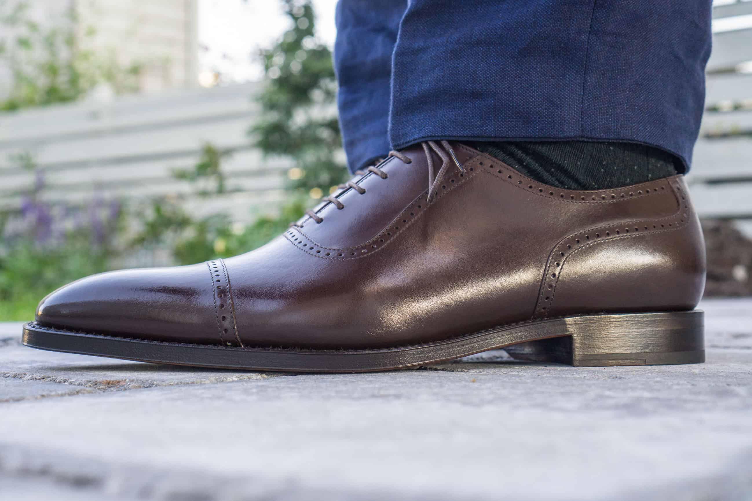 d544160c81b Recension – Orban's Oxford Soho Dark brown – Shoegazing