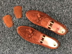 Tipset - Plöskudde mot glappande loafers